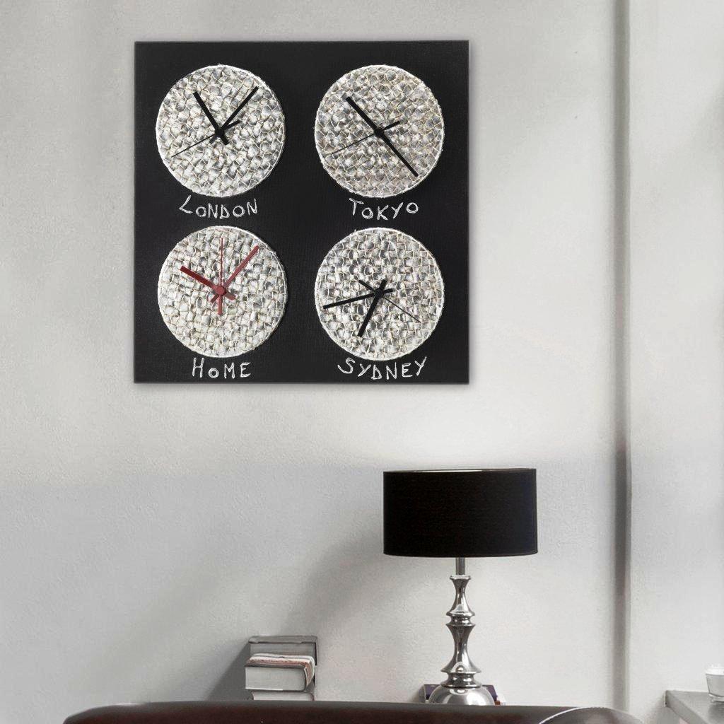 デコラティブなクロック!イタリア生まれのハンドメイドのモダンアート|CRONO P3632