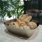毎朝のパン食も楽しくなる!シンプルモダンなデザインで、おしゃれ且つ使い勝手の良いステンレス製ブレッドバスケット。|ZACK 22429 BONA