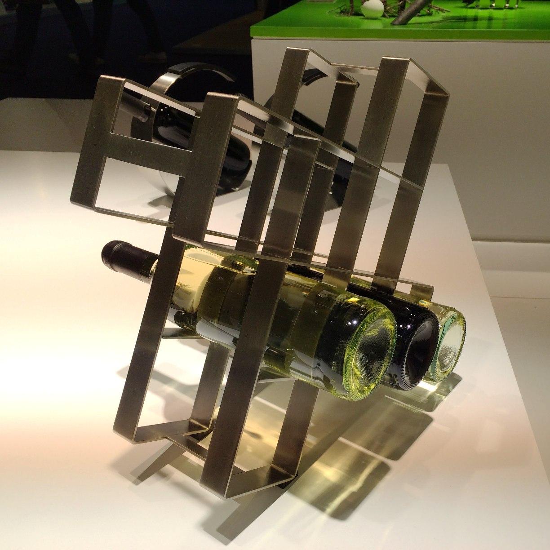 ZACK 20569 ALTO ドイツZACK社製モダンデザインのボトルラック(8本用)