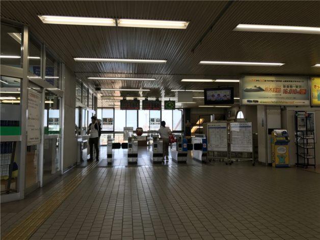 TEORI 山陽本線 新倉敷 改札